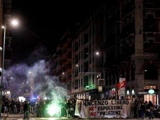 corteo anarchici milano