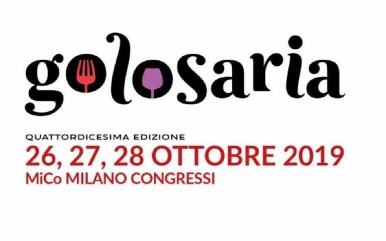 Torna Golosoria 2019 a Milano.