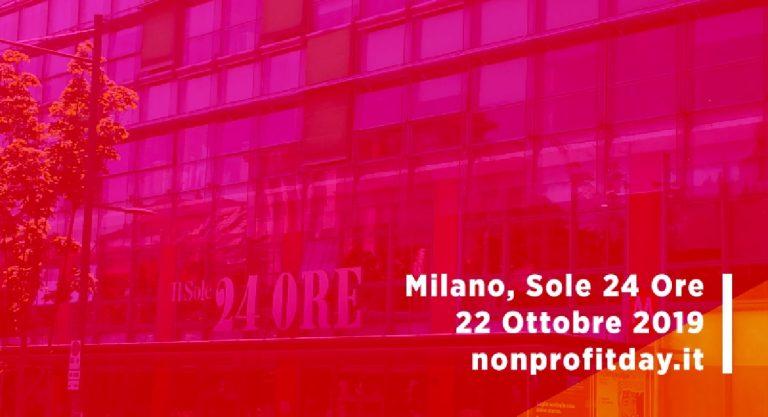 22 ottobre 2019 nonprofit day