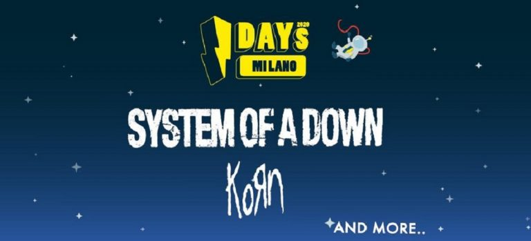 system of a down kors concerto milano