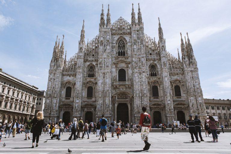 turisti a Milano settembre 2019