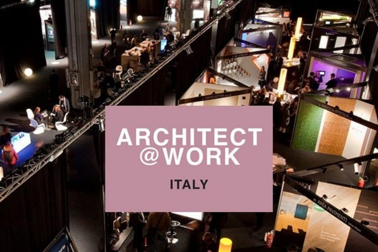 Architect at work Milano 2019