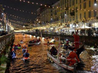Concerto di Natale sul Naviglio Grande