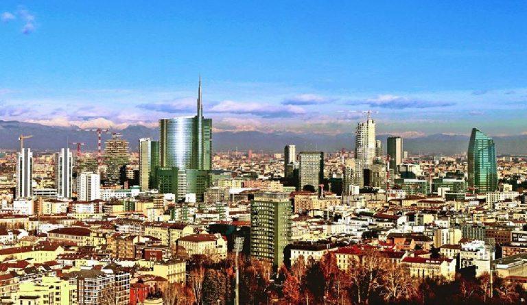 dove vivono abitano i vip di milano skyline