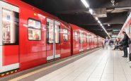 Metro m1 milano sospesa