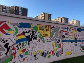 murales milano muro di berlino