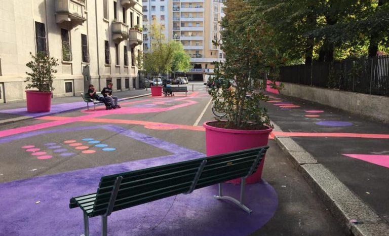 La strada colorata