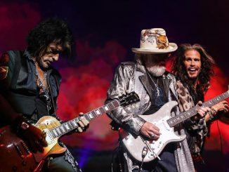 Aerosmith in concerto agli IDAYS di Milano nel 2020