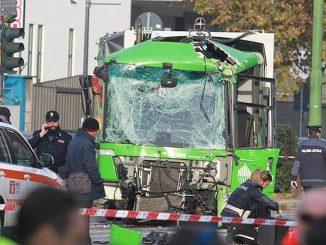 incidente filobus