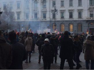 Proteste Prima della Scala