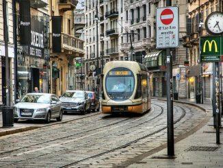 tram bloccati milano