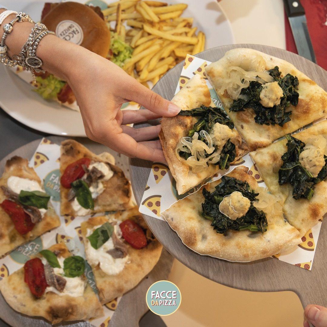 facce da pizza ristorante