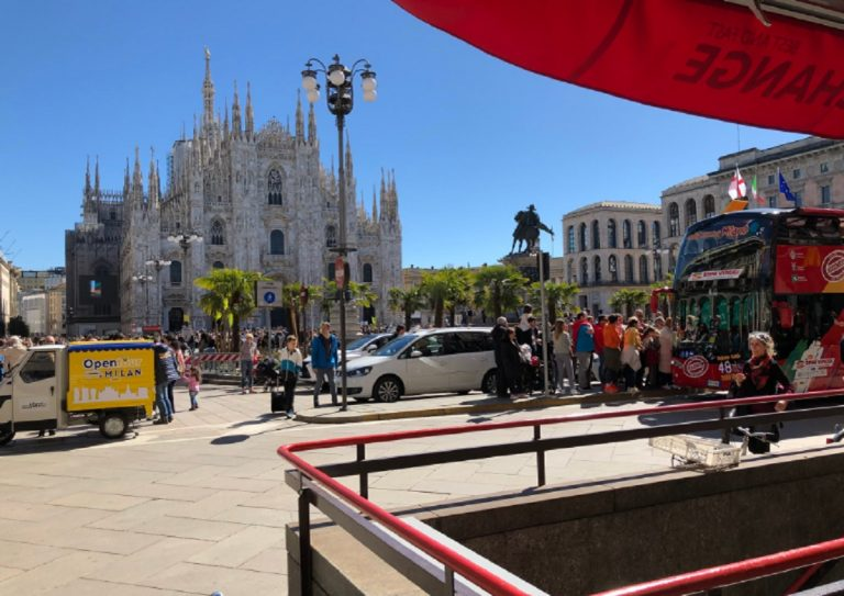 turisti milano 2019