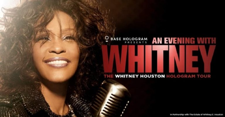 Whitney Houston in concerto a Milano