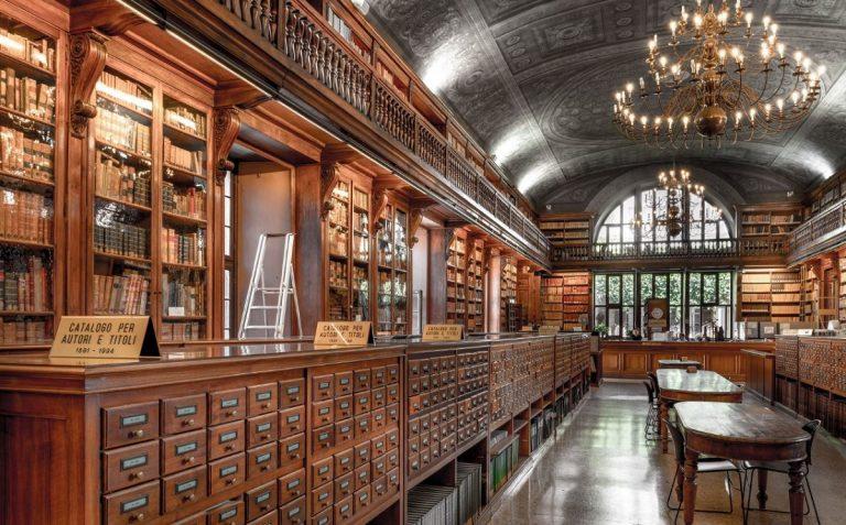 biblioteca braidense milano