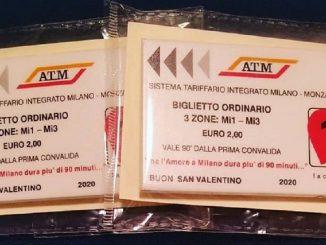 I biglietti della metro in versione San Valentino: l'idea originale a Milano