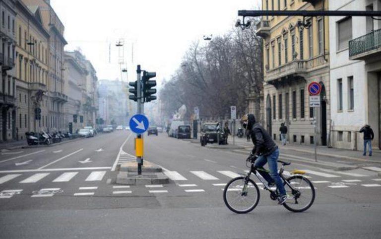 blocco traffico milano
