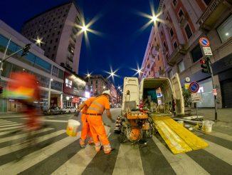 """Corso Buenos Aires: """"Lavoriamo giorno e notte per finire la ciclabile"""""""