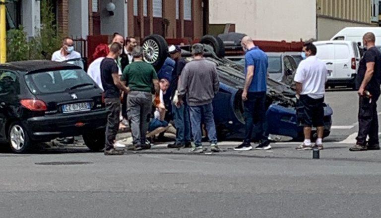 Milano incidente via Tobagi