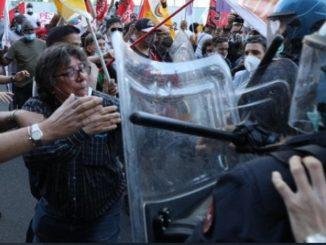 Protesta regione Lombardia