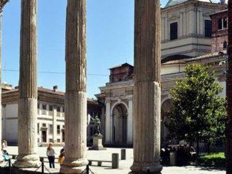 gate central colonne di san lorenzo