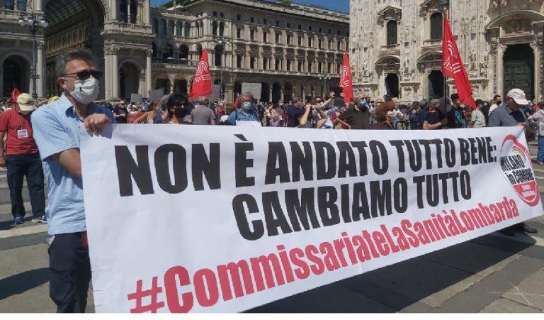 Manifestazione Piazza Duomo 20 giugno