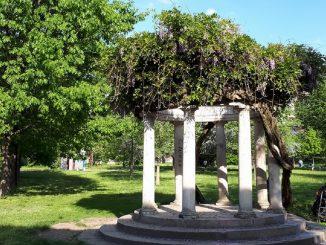 Parco di Villa Finzi, l'aria verde a Milano