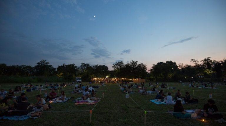 picnic e cinema sotto le stelle