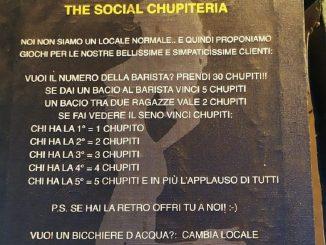 the social chupiteria
