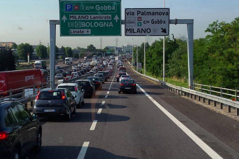 traffico milano settembre 2020