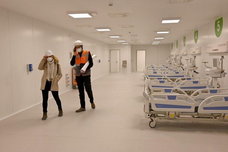 Ospedale Fiera Milano ricoverati