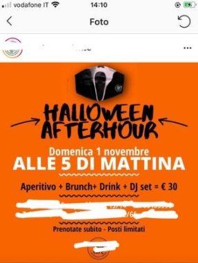 feste halloween Milano