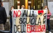 Protesta contro il liceo Manzoni di Milano