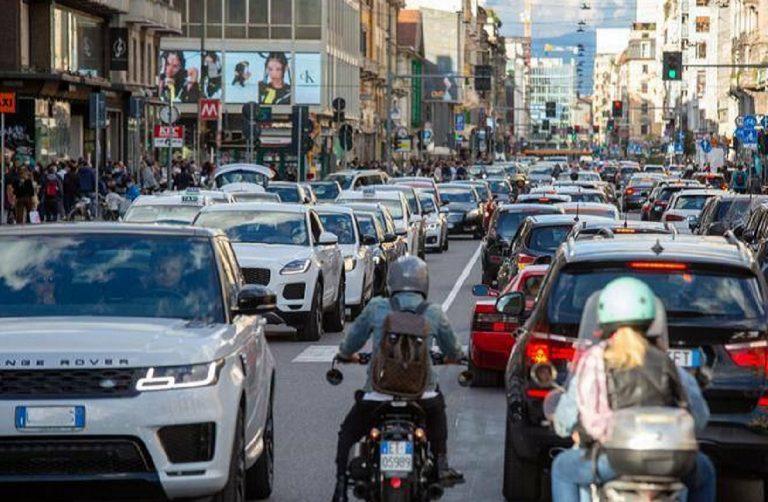 Traffico Milano Covid