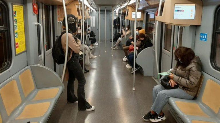 metro milano affluenza
