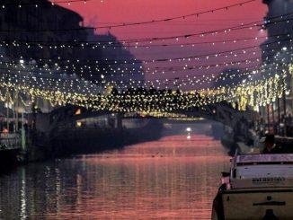 luci milano natale