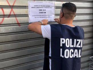 controlli commerciali polizia locale
