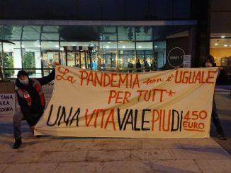 Protesta San Raffaele