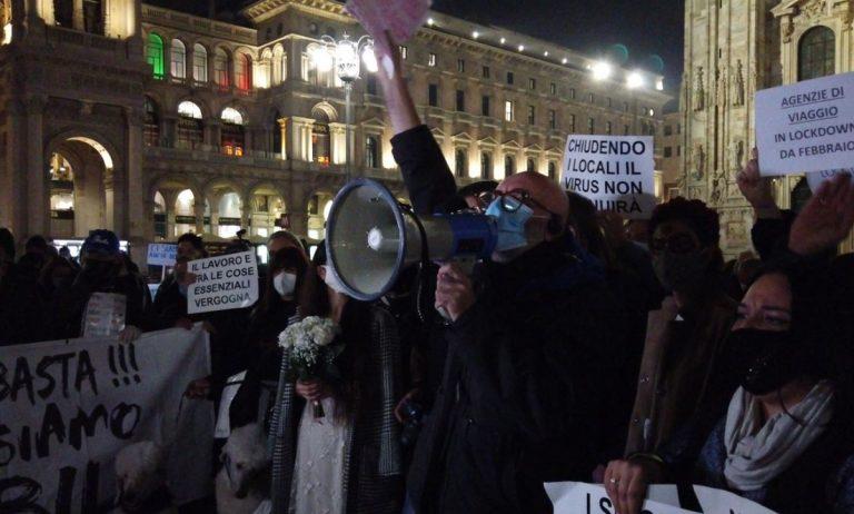 protesta milano