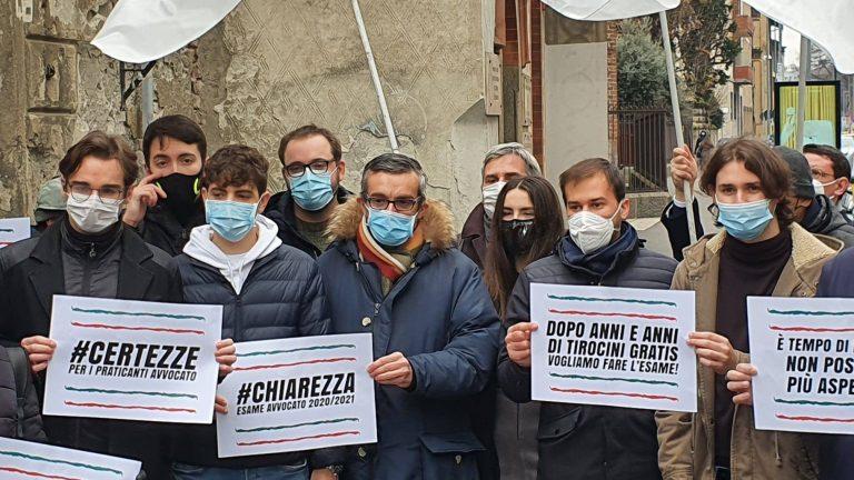 protesta avvocati milano