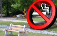 Il divieto di fumo nei parchi viene rimandato al 19 gennaio