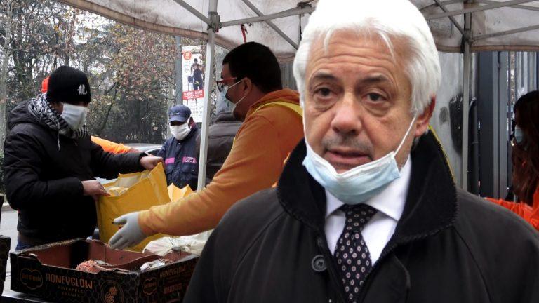 I _nuovi_ poveri del covid, centinaia in fila per il cibo_ _Il 40% sono italiani_