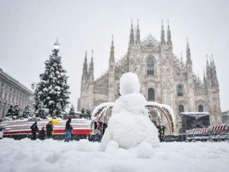 Neve a Milano: è strage di alberi