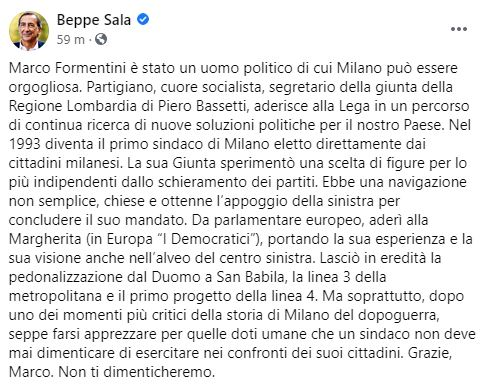 Marco Formentini Beppe Sala