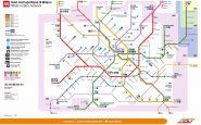 nuova mappa metro milano