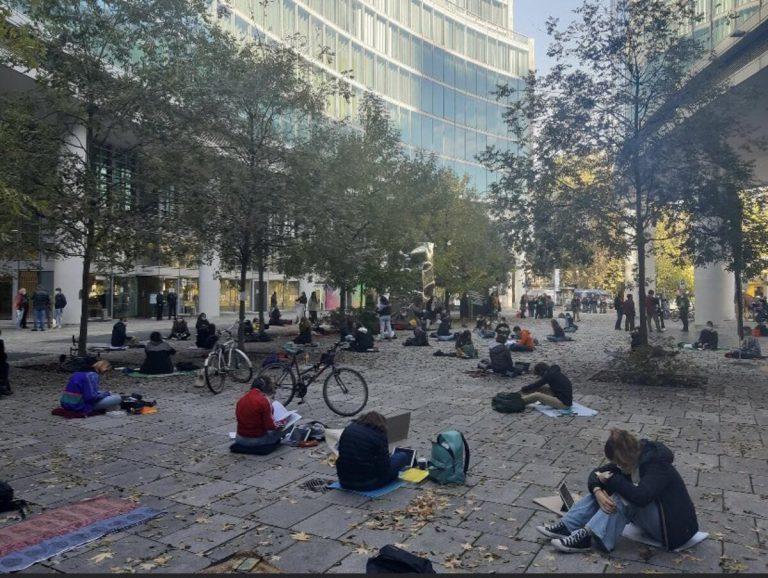 protesta degli studenti