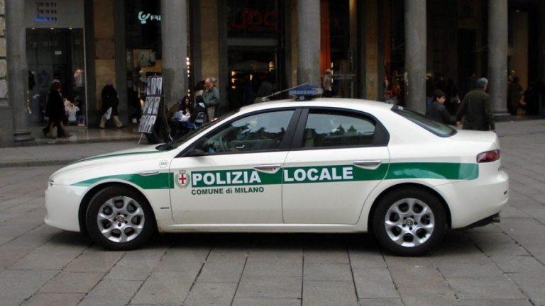 auto ibride polizia locale