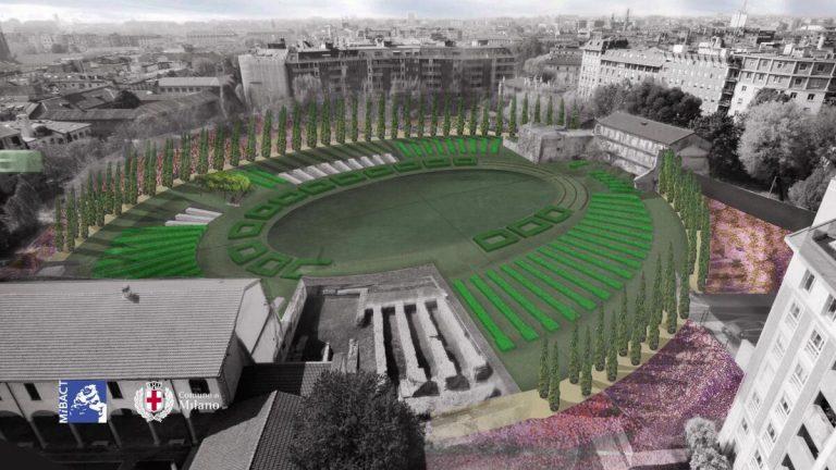 Milano, in arrivo il Colosseo Verde e il parco archeologico green