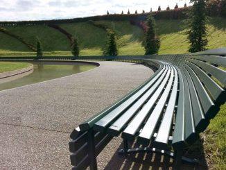 panchina più lunga del mondo