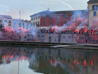 Manifestazione anarchici Darsena